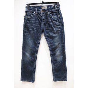 Mek denim men's 32 harbin straight thick jeans